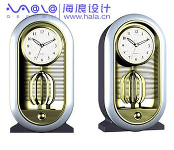 金饰钟外观造型设计,结构设计