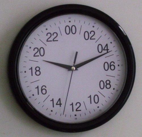 24小时石英钟机芯,24小时制挂钟,24小时时钟,挂钟机芯