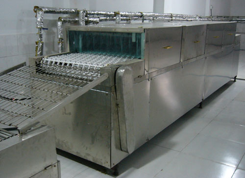 餐具消毒厂房平面图