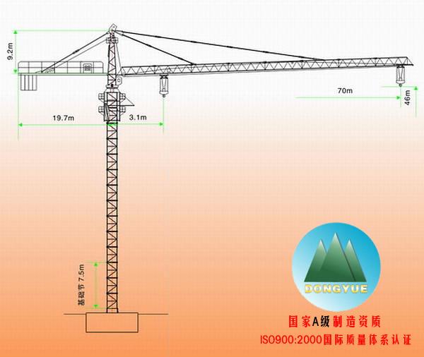塔吊小车结构图片