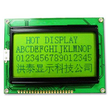lcm厂家供应12864液晶显示模组