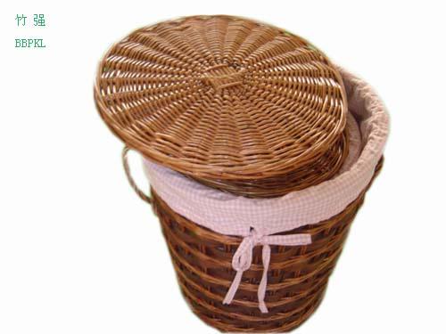 竹筐,编织筐