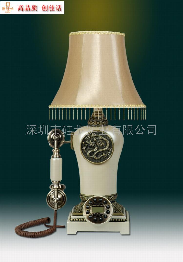 仿古台灯电话,时尚家居饰品,家用电器,台灯批发产品