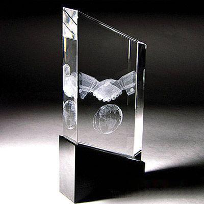 广州水晶内雕,水晶内雕图案,水晶奖杯内雕