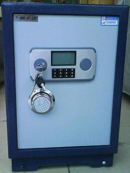 可以选择与手机电话联网报警加装 基本资料 产品名称:东莞虎牌保险柜