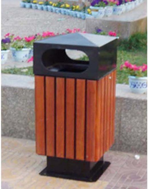 可分类垃圾桶,公园椅垃圾桶