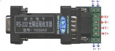 Y232A2 冗余型RS-232光隔远程收发器