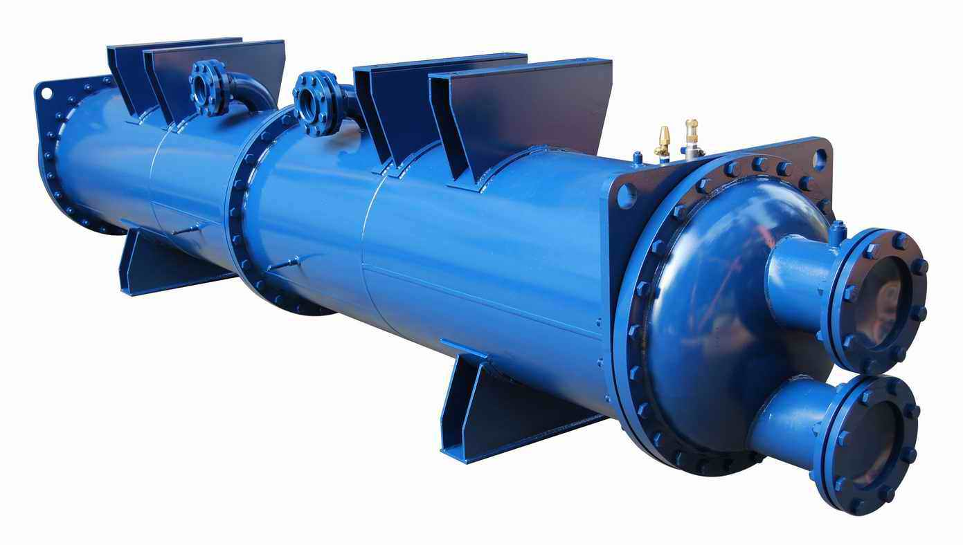 柜机冷凝器 海水冷凝器 满液式蒸发器 壳管式换热器