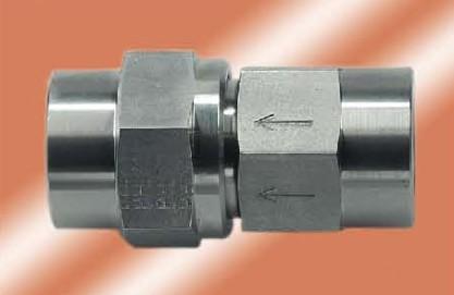 rsvi直通单向阀图片; 供应不锈钢直通内螺纹单向阀 直通单向阀图片