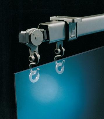 商业门吊轮滑轨系统——90度转向移动隔断, 135度转向移动隔断,多