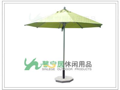 2mm伞布配牛皮口袋  三,馨宁居豪华铝合金伞结构:  1,伞