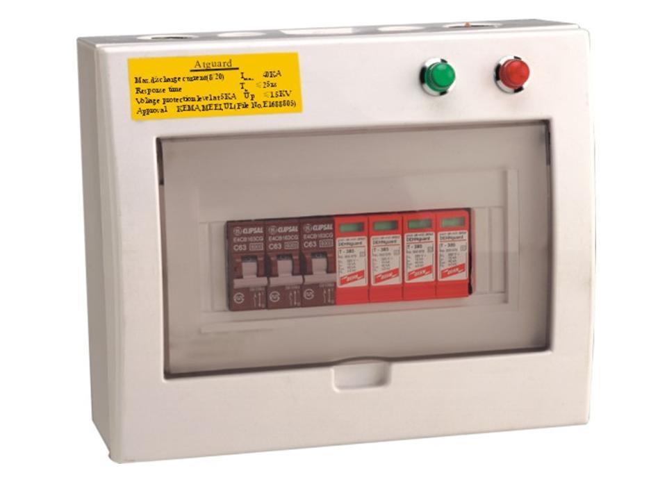 第二级三相电源防雷箱配套图片
