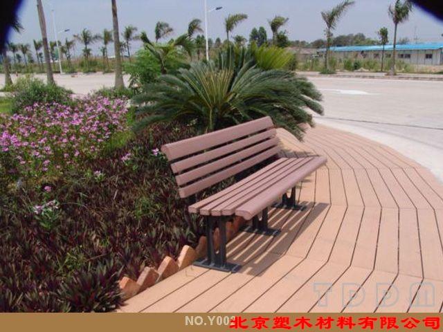 北京塑木休闲椅