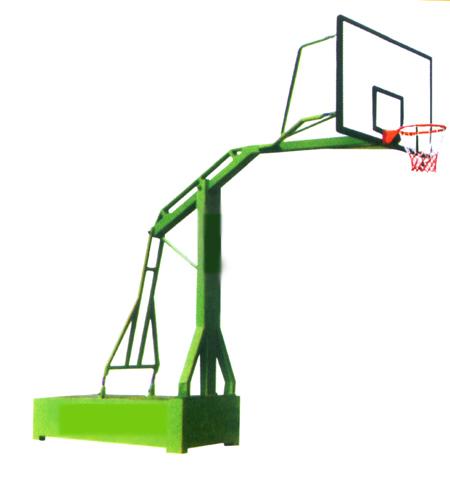 平箱式仿液压篮球架 - 沧州腾飞体育用品有限公