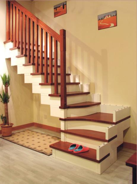 实木楼梯产品大图
