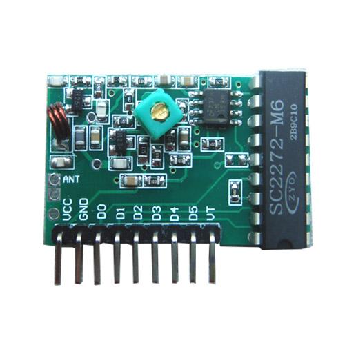 解码超再生六路接收模块hc-rj05产品大图