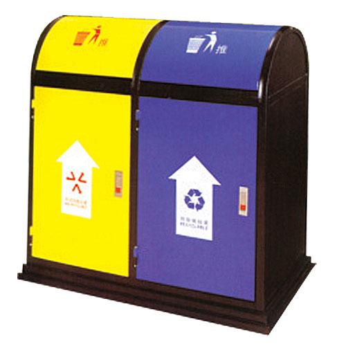 钢板垃圾桶-垃圾桶-广州业诚五金玻璃钢工艺有限公司
