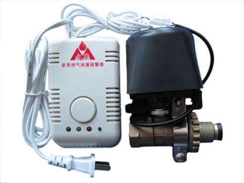 家用可燃气体泄漏报警器联动机械手