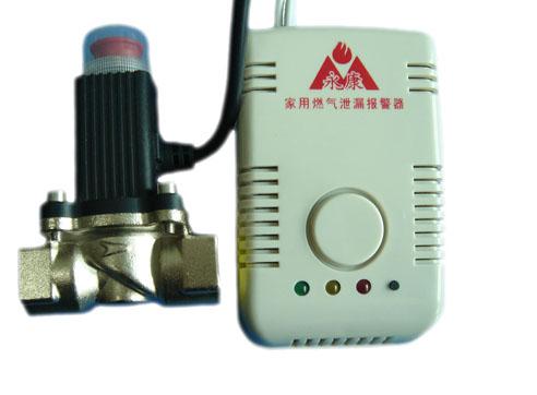 可燃气体泄漏检测报警器联动电磁阀