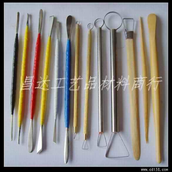 13件雕塑工具~雕塑工具,泥塑工具