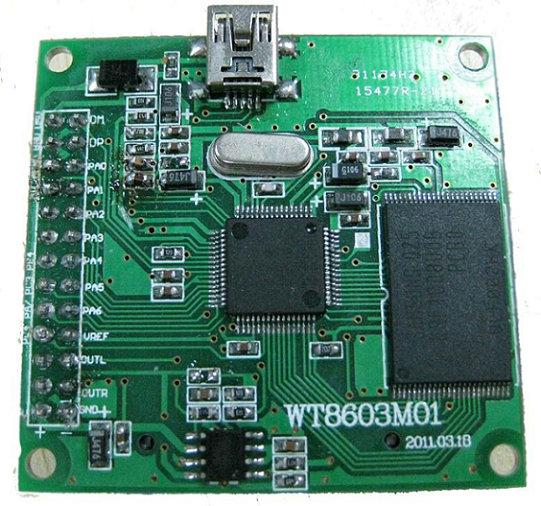 汽车录音机电路板