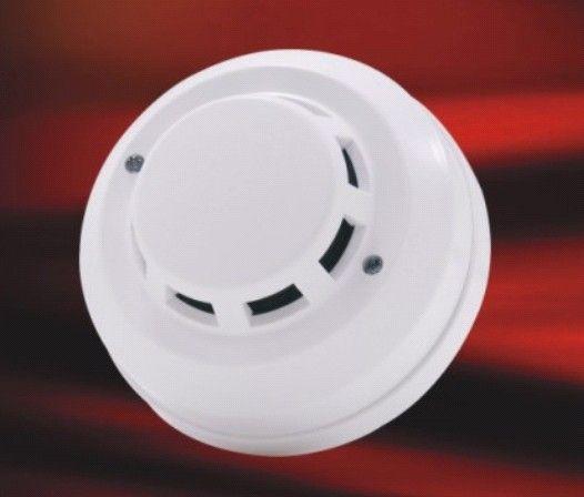 吸顶式燃气报警器/12V煤气探测器与楼宇对讲连接