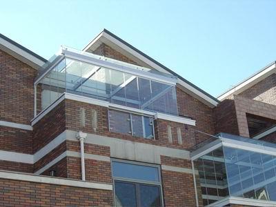 欧式别墅玻璃顶棚