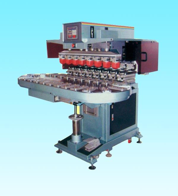 东莞市/EP250CE8自动八色转盘座地移印机产品大图