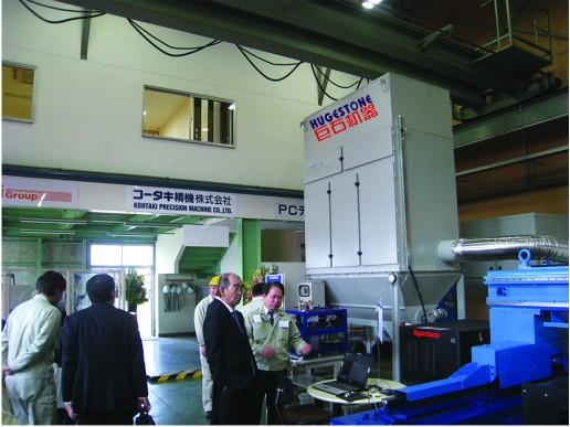 广东巨石工业集尘机 中央集尘器 大型车间吸尘机JS18-162D