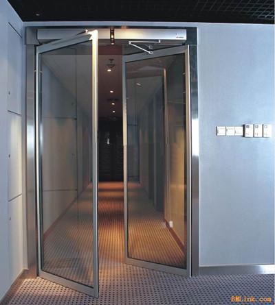 双扇平开玻璃门_【海淀区安装钢化玻璃门修理平开玻璃门滑轨