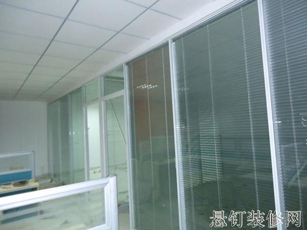 透明隔音t1090济南玻璃隔断效果图设计铝框包边图