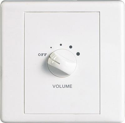功能特征 通过100v紧急广播信号,实现消防强制切换打开音量开关.