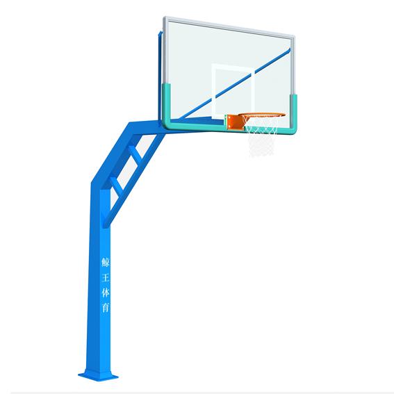 单臂锥柱篮球架