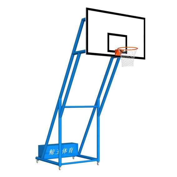 炮式移动篮球架高清大图