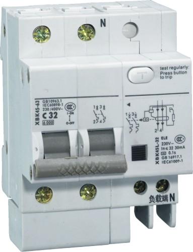 供应xbk45le-63漏电断路器