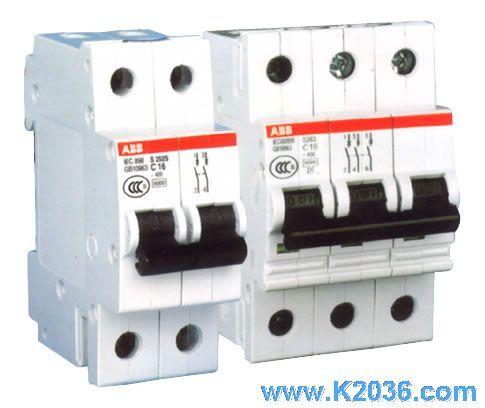 并与微型断路器或熔丝串联使用,可有效地减少火灾和电击的危险.