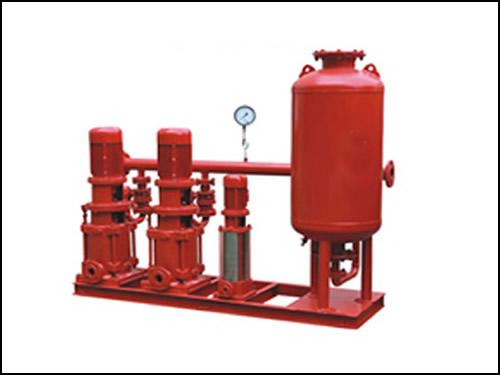 消防备用泵,稳压泵组,气压罐,压力传感器,控制柜等组成.