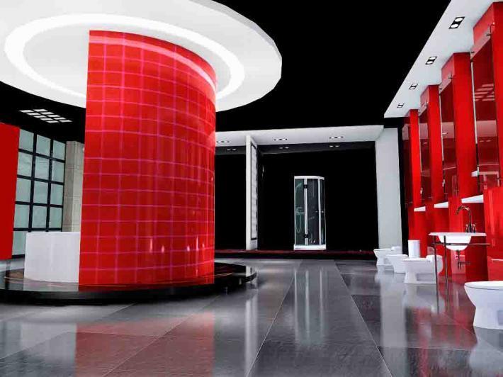 [供应]企业展厅设计装修,史馆设计装修及施工,精品专柜设计制作