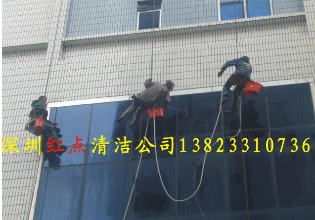深圳清洗墙面砖及玻璃幕墙的清洁公司