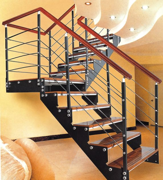 [供应]钢木楼梯,阁楼梯,楼梯扶手,楼梯立柱yd-9012