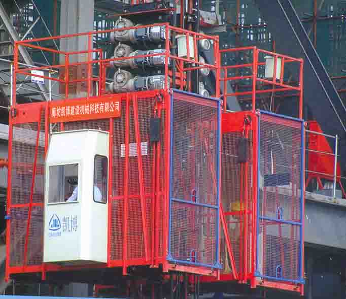 施工电梯高清大图,本图片由北京神州恒运达机电设备有限公司提供.