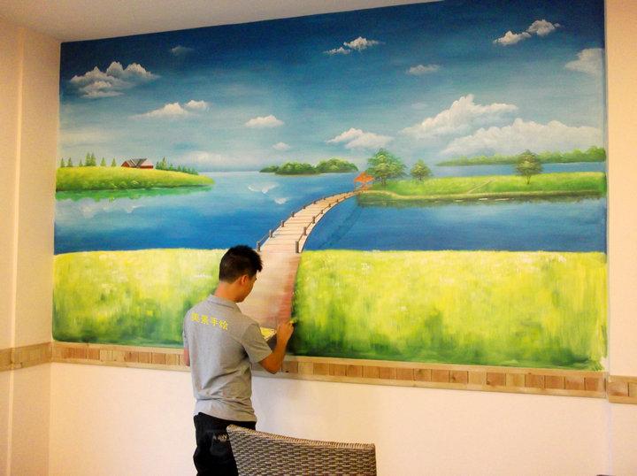 [供应]深圳美景手绘墙,墙绘公司好吗
