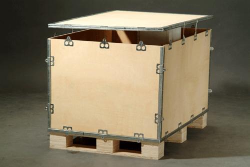 苏州木包装箱运输和包装专业制作高清图片
