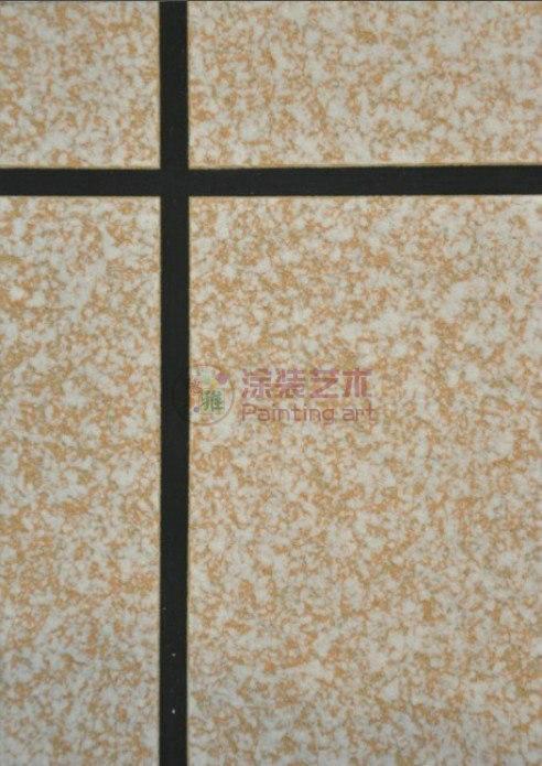 欧式外墙真石漆铺贴图片