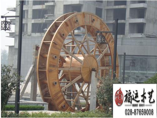 哪儿在做风车哪儿在做水车防腐木风车防腐木水车