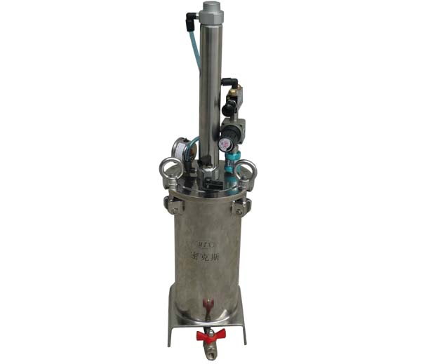 带活塞不锈钢压力桶点胶压力桶