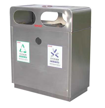 户外垃圾桶高清图片 高清大图