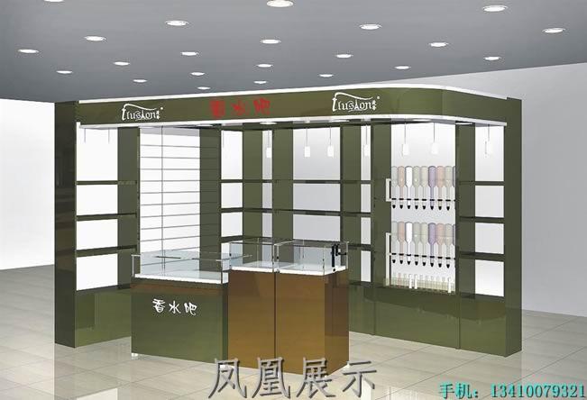 化妆品展柜高清大图