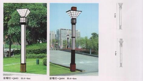 景观灯马路照明灯led节能灯上海亚明钠灯街道灯杆-景观设计介绍 组图