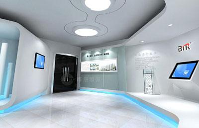 医疗机械展厅设计,深圳医疗机械展厅设计公司,深圳医疗展厅设计装修图片